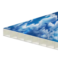 Polyprop kanaalplaat voor stoepborden